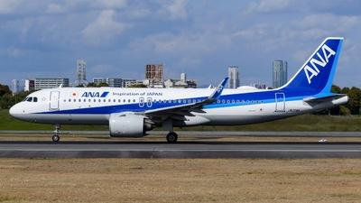 JA214A - Airbus A320-271N - All Nippon Airways (ANA)