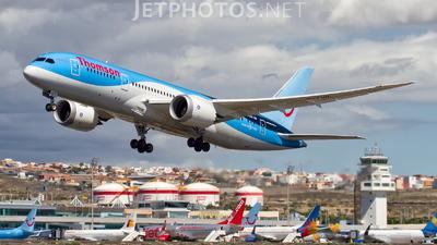 G-TUII - Boeing 787-8 Dreamliner - Thomson Airways