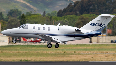 N805KK - Cessna 525 Citation CJ1 - Private