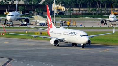VH-XZG - Boeing 737-838 - Qantas