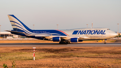 A picture of N952CA - Boeing 747428(BCF) - National Airlines - © SnowMiku39