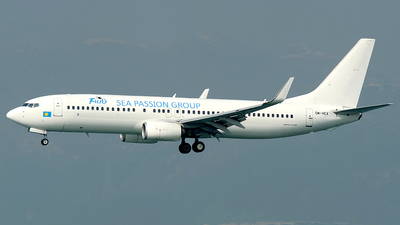 OM-HEX - Boeing 737-81Q - Palau Pacific Airways