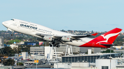 A picture of VHOJU - Boeing 747438 - [25566] - © Yohane