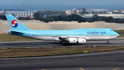 A picture of HL7644 - Boeing 7478B5 - Korean Air - © HHD0221