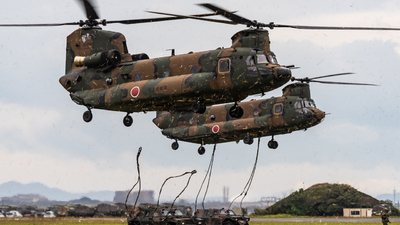 52969 - Kawasaki CH-47J Chinook - Japan - Ground Self Defence Force (JGSDF)