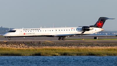C-FTJZ - Bombardier CRJ-900LR - Air Canada Express (Jazz Aviation)