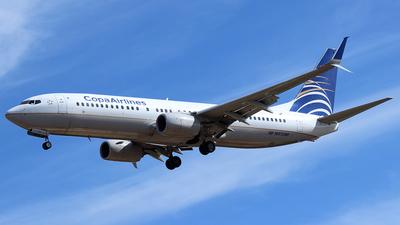 A picture of HP1857CMP - Boeing 7378V3 - Copa Airlines - © Rene Bernardo Olmos Bernal