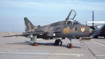 04 - Sukhoi Su-17M-4 Fitter K - Soviet Union - Air Force