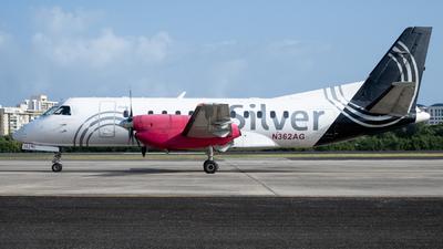 A picture of N362AG - Saab 340B - Silver Airways - © Jose L Roldan