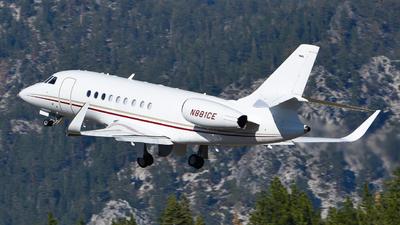 N881CE - Dassault Falcon 2000EX - Private