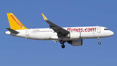 A picture of TCNBV - Airbus A320251N - Pegasus Airlines - © Bora Polater