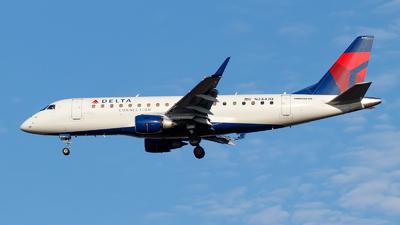A picture of N244JQ - Embraer E175LR - Delta Air Lines - © Oliver Richter