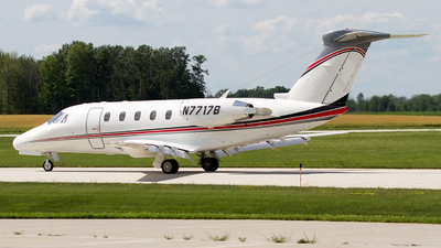N7717B - Cessna 650 Citation VI - Private