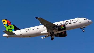 5A-ONB - Airbus A320-214 - Afriqiyah Airways