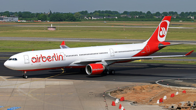 D-AERK - Airbus A330-322 - Air Berlin (LTU)