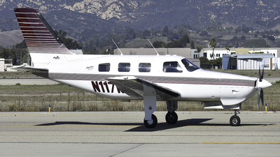 A picture of N117KR - Piper PA46350P Malibu Mirage - [4636088] - © Nathaniel Schott