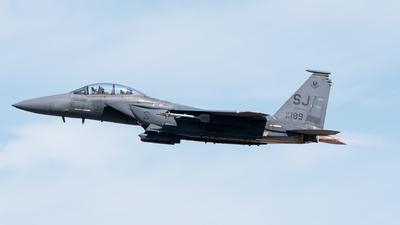 86-0189 - Boeing F-15E Strike Eagle - United States - US Air Force (USAF)