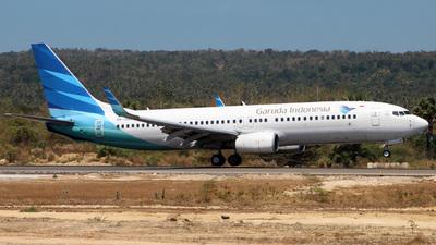 A picture of PKGNA - Boeing 7378U3 - Garuda Indonesia - © Joshafat_Hutapea
