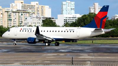 A picture of N308SY - Embraer E175LR - Delta Air Lines - © Robert Maverick Rivera