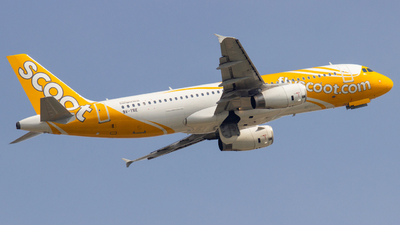 9V-TRE - Airbus A320-212 - Scoot