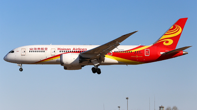 A picture of B2729 - Boeing 7878 Dreamliner - Hainan Airlines - © Haruka_Yonetsu