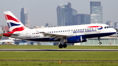 A picture of GDBCB - Airbus A319131 - British Airways - © spotter_marcin