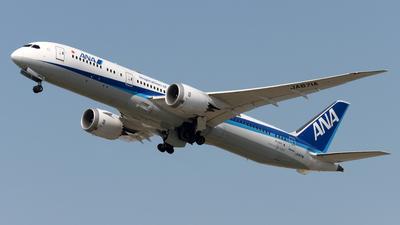 A picture of JA871A - Boeing 7879 Dreamliner - All Nippon Airways - © Alvin Ho - AHKGAP