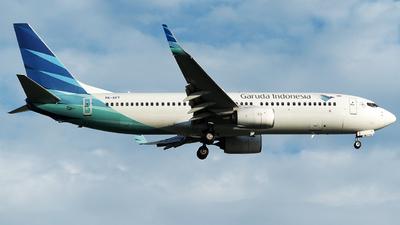 PK-GFT - Boeing 737-86N - Garuda Indonesia