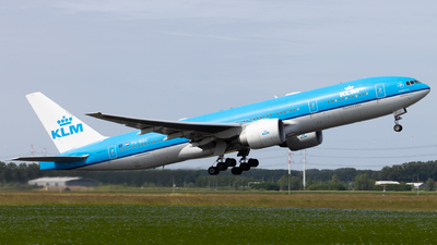 A picture of PHBQC - Boeing 777206(ER) - KLM - © Alexander Jeglitsch