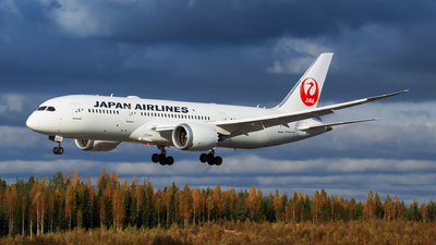 JA841J - Boeing 787-8 Dreamliner - Japan Airlines (JAL)