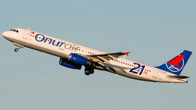 TC-OBR - Airbus A321-231 - Onur Air