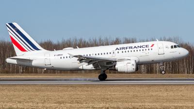 A picture of FGRHH - Airbus A319111 - Air France - © Andrei Kurach