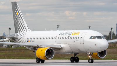 A picture of ECNGB - Airbus A319111 - Vueling - © Willem GRANNAVEL