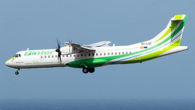 A picture of ECLGF - ATR 72500 - Binter Canarias - © Pablo Gonzalez de Leon