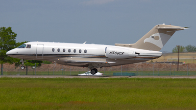 N508CK - Hawker Beechcraft 4000 - Private