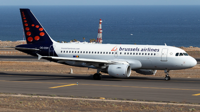 OO-SSR - Airbus A319-112 - Brussels Airlines