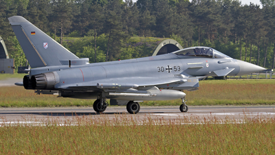3053 - Eurofighter Typhoon EF2000 - Germany - Air Force