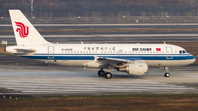 A picture of B6226 - Airbus A319115 - Air China - © Messerschmitt.X
