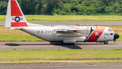 1707 - Lockheed HC-130H Hercules - United States - US Coast Guard (USCG)
