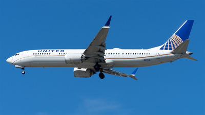 N37510 - Boeing 737-9 MAX - United Airlines