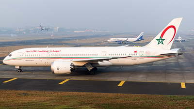 A picture of CNRGT - Boeing 7878 Dreamliner - Royal Air Maroc - © Chetan Puthran - AirTeamImages