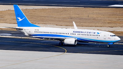 A picture of B7178 - Boeing 73785C - Xiamen Air - © MingyaoLeonardo