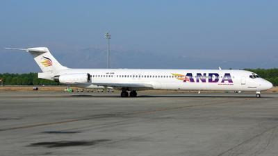 UR-CPB - McDonnell Douglas MD-83 - Anda Air
