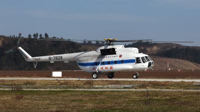 B-7829 - Mil Mi-8 Hip - XingJiang Kaiyuan General Aviation
