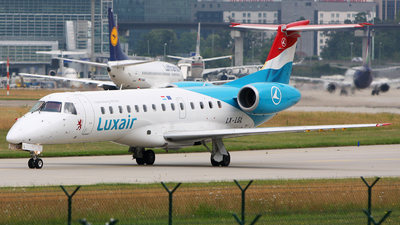 LX-LGL - Embraer ERJ-135LR - Luxair - Luxembourg Airlines