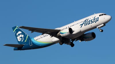A picture of N629VA - Airbus A320214 - Alaska Airlines - © Angel Natal