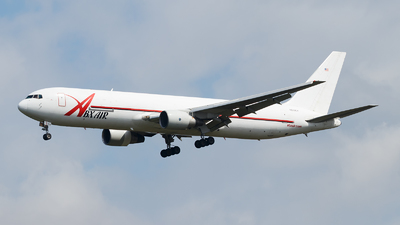 A picture of N219CY - Boeing 767383(ER)(BDSF) - ABX Air - © Paul Kalbitz