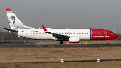 EI-FJA - Boeing 737-8JP - Norwegian