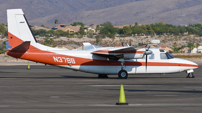 N37SB - Gulfstream 690C Turbo Commander - Private