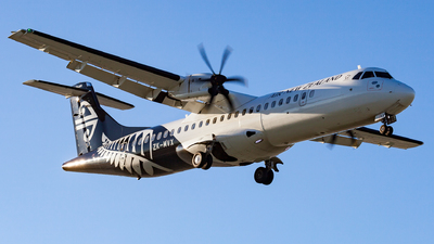 ZK-MVX - ATR 72-212A(600) - Air New Zealand